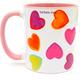 Super Sister in Hebrew coffee mug | Barbara Shaw Gifts