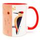 Mug - 'Flights of Fancy' Woodpecker Bird