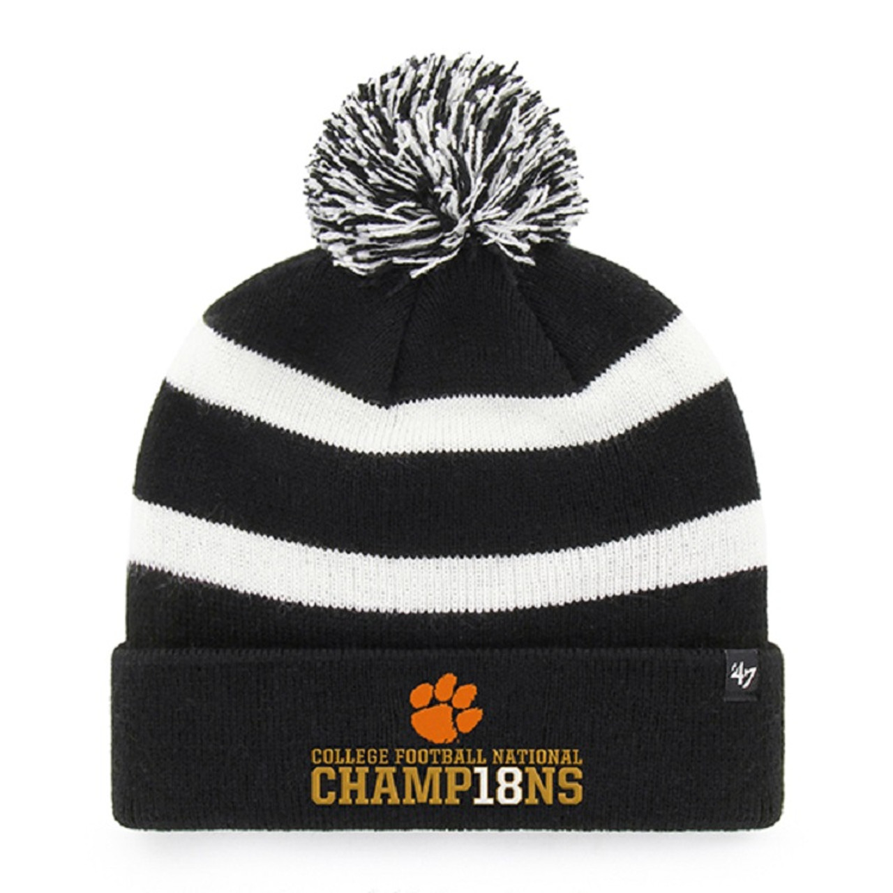 sports shoes fa0df 24c53 netherlands clearance 47 adults clemson university cleanup cap 39e2b ce11b  6797f 6c540  france clemson tigers 2018 national champions 47 brand  breakaway ...