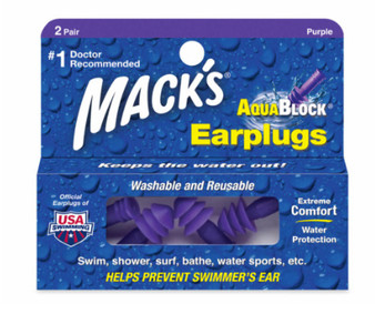 Aqua Block Ear Plug Purple