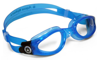 Kaiman Adult Goggle Clear-Blue