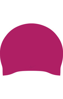 Solid Long Hair Silicone Cap