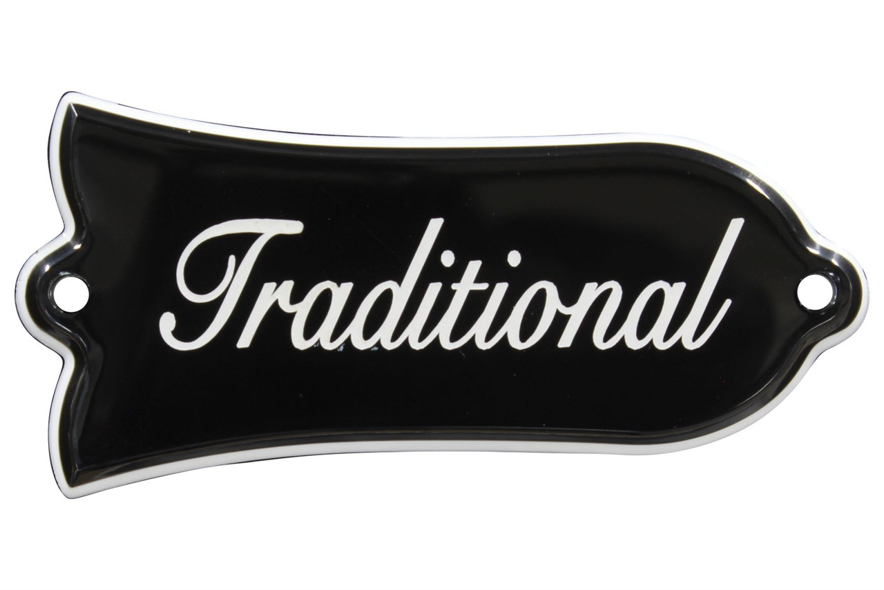2-Ply Genuine Orignal Gibson Les Paul Deluxe Truss Rod Cover Plate