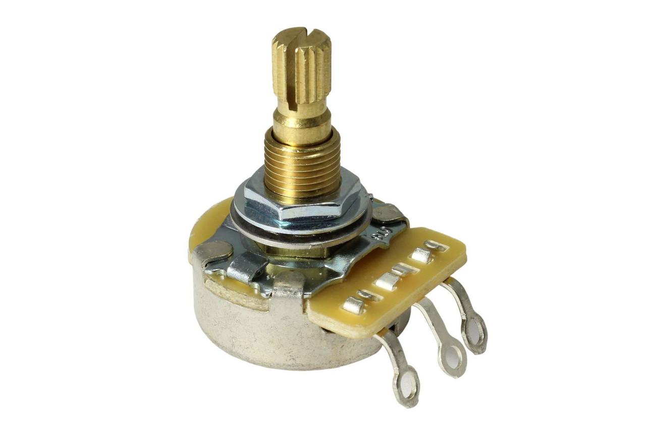 CTS Metric A500K Audio Split Shaft Import Coarse Spline Potentiometer