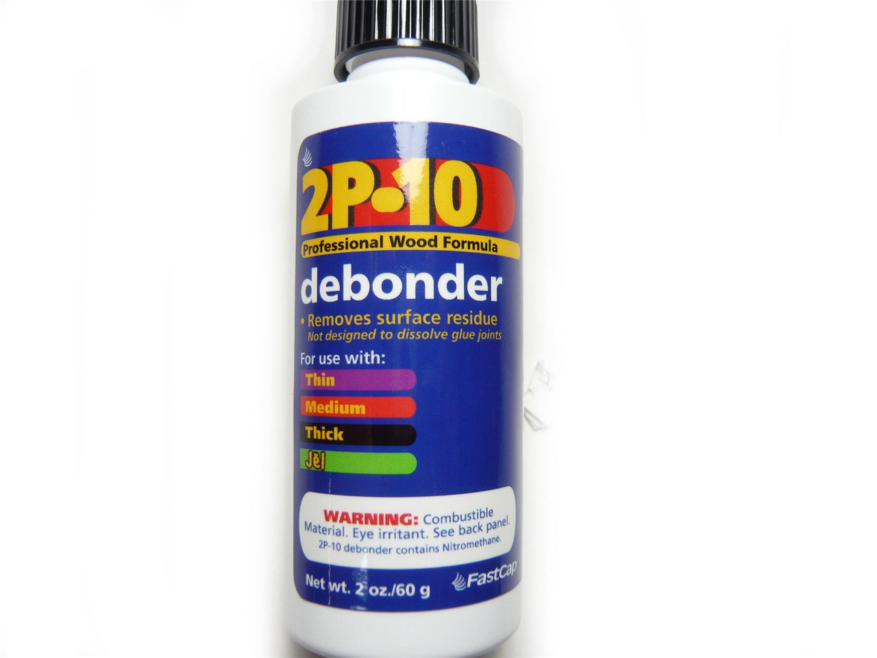 FastCap 2P-10 Cyanoacrylate SuperGlue Debonder 2oz