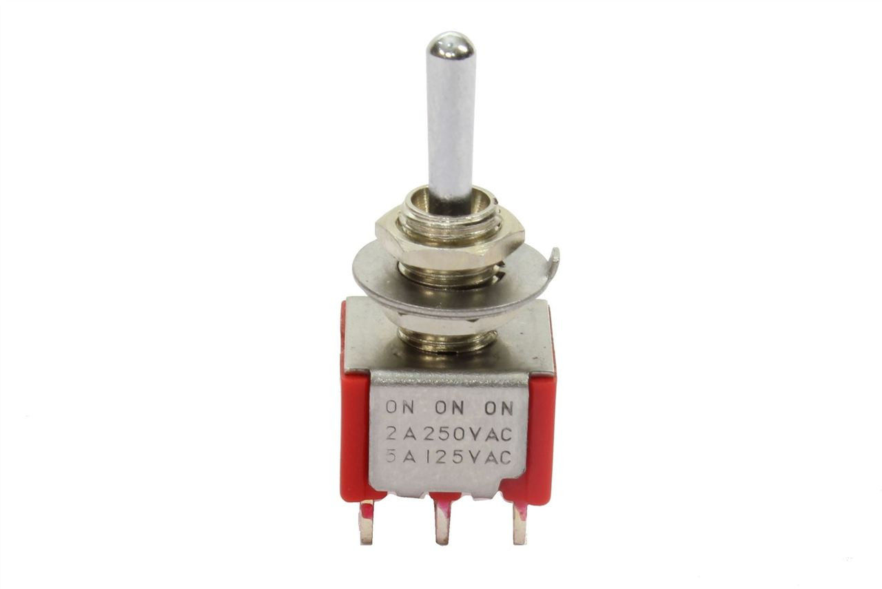 Switchcraft Toggle Switch 3way Rightangle