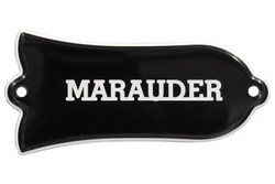 Engraved MARAUDER truss rod cover