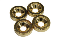 Gold 15mm diameter neck ferrules