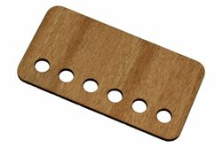 Mahogany Inserts for open pickup covers