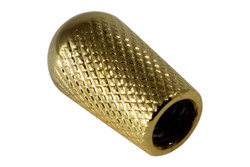 Knurled toggle switch knob - Gold