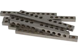 Humbucker/P90 10 Hole Keeper Bar 50mm - 1010 - Qty 10