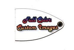 Custom Personalized Truss Rod Cover w/ your picture or logo for import PRS SE guitars