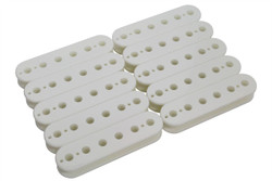 50mm Slug Side Humbucker Pickup bobbin - white