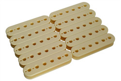 50mm Slug Side Humbucker Pickup bobbin - cream
