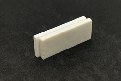 "Bone Nut Blanks - 2"" x .75"" x .2"" - 2 pack - dobro"