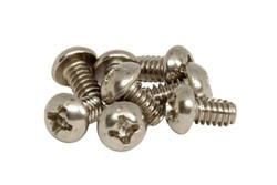 """SAE 6-32 x 1/4"""" Pickup selector switch(CRL, Oaks) Phillips Round Head Screws"""