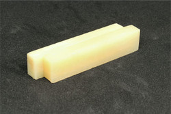 "Bone Nut Blanks Unbleached Vintage Bone - 2.22"" x .47"" x .25"" - 2 pack"