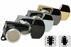GOTOH SGL510Z-A01 Locking Tuning Machine Midsize-Large Knobs - Pre-Configured