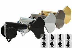 GOTOH GB350 Res-o-lite Compact Bass Tuning Machines Tuners - Preconfigured Sets
