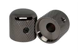 Smoked Black Nickel (Cosmo Black) domed knobs