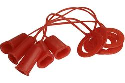 FastCap GluBot Replacement Red Caps 5-pack