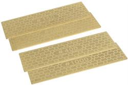"Dual Grit Mini Diamond Plate Grit 3 7/8"" (100mm) x 1 3/16"""" (30mm) - 1 pcs"