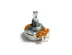 Metric B250K Linear Split Shaft Import Coarse Spline Potentiometer