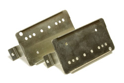 Humbucker Nickel Silver Frame baseplate 49.2mm Long Legs 2 pk NEW VERSION