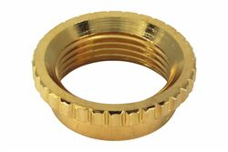 Coarse Knurl Deep Nut for Switchcraft toggle switches - Gold