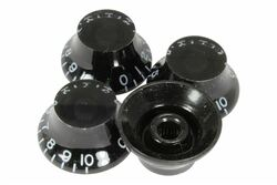 Black Bell Hat knob - Import coarse spline