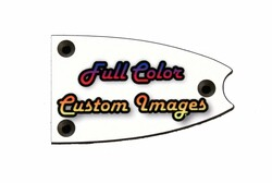 Custom Personalized Truss Rod Cover w/ your picture or logo for Epiphone Casino, Broadway guitars
