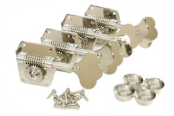 Vintage Bass guitar tuning machines for vintage Fender basses.