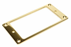 Gold plated metal flat mounting ring.