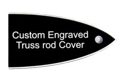 Custom engraved truss rod cover for ESP and LTD guitars