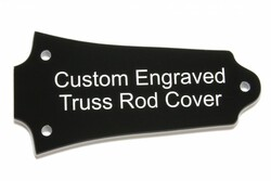 Custom Engraved truss rod cover for Older Epiphone guitars
