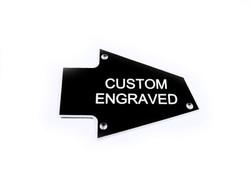 Custom Engraved Truss Rod Cover fits Ibanez RG Guitars Japan