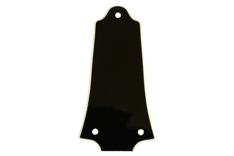 Blank 2ply  B/W Truss Rod Cover fits many Older Epiphone Les Paul, etc