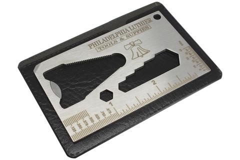 String Action Gauge - Guitar Pocket Multi Tool - multi spanner wrench, ruler