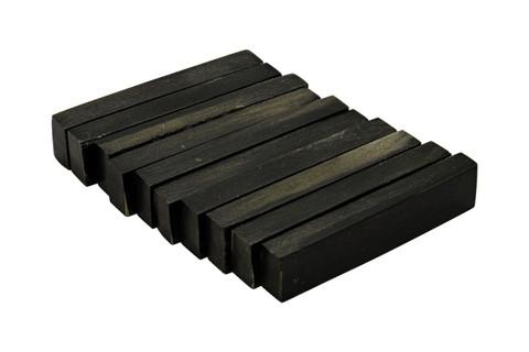 """Buffalo Horn Nut Blanks - 2.22"""" x .47"""" x .25"""" - 10 pack"""