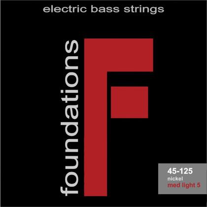 S.I.T. Strings FN545125L - Foundations 5 String Bass Nickel Medium Light (45-125)