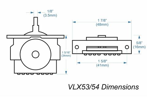 wiring diagram, fender vlx53 high-quality import 5-way lever switch -  philadelphia luthier on fender p