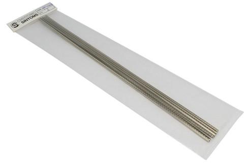 "Sintoms Nickel Silver Asymmetric Frets 18% NS - .096""(2.45mm)x.035""(.9mm)"