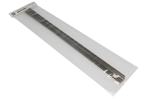 """Sintoms Ringing Stainless Steel Frets - .109""""(2.7mm)x.038""""(.96mm)"""