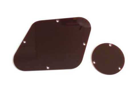 Backplate Control Cover Set Brown for Gibson® Les Paul