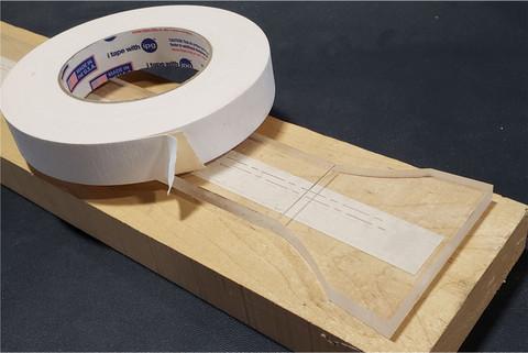 "Double Side Masking Tape 1"" x 36yds"