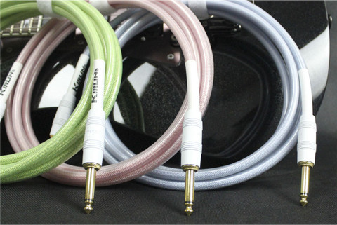 Kirlin IPW-201 WG Woven Guitar Cable Straight