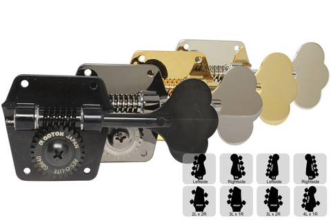 GOTOH GB 640 Bass Tuning Machine