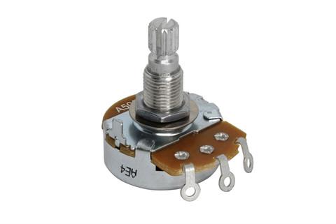 ALPHA A500K Audio Split Shaft Metric Coarse Spline Potentiometer
