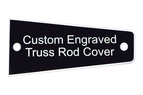 Custom Engraved Truss Rod Cover fits Heritage Guitars