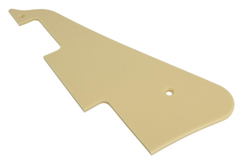 Pickguard 1 ply cream for Gibson® Les Paul (Allparts PG-0800-028)